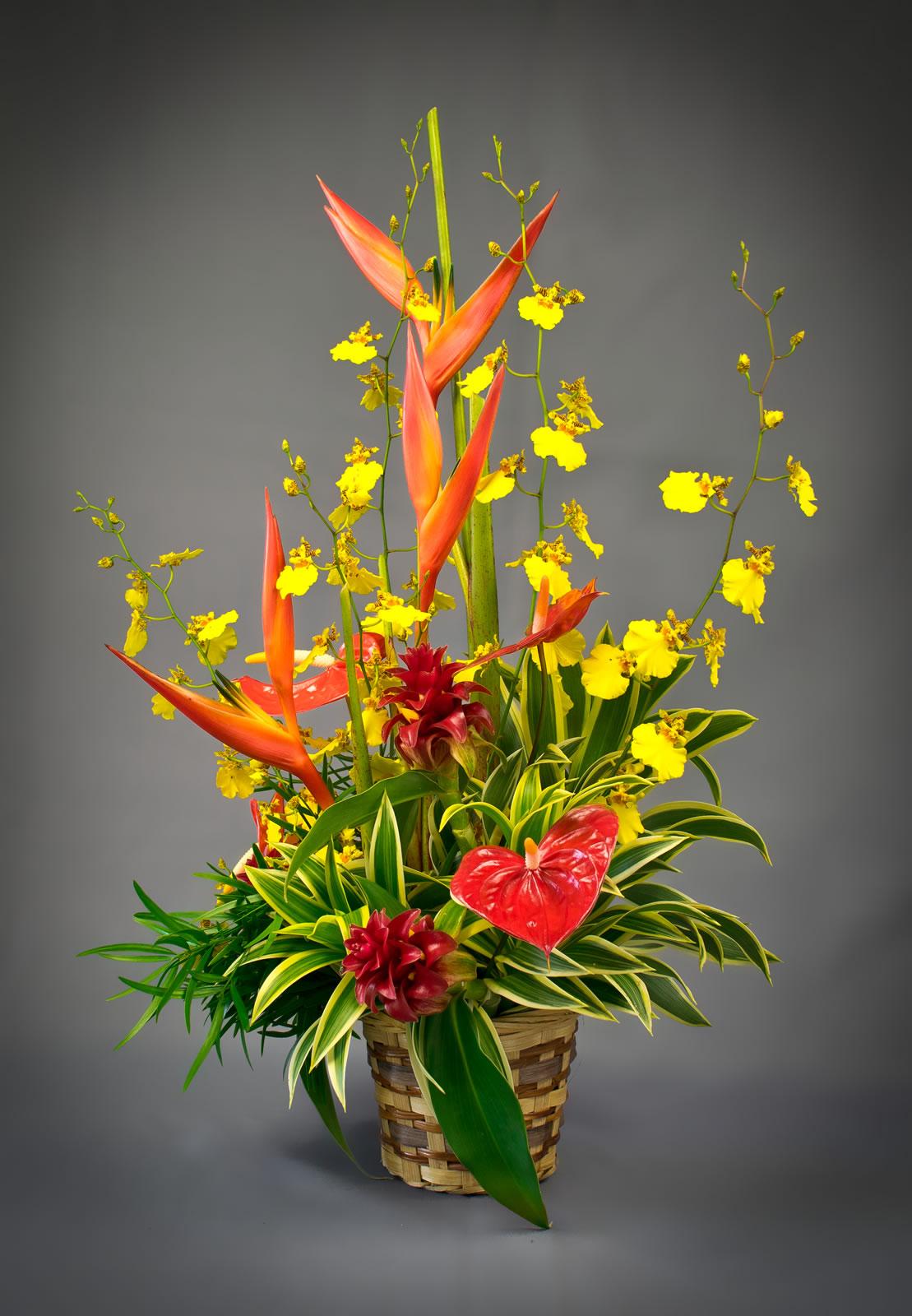 Autumn Song Puna Ohana Tropical Flowers Leis