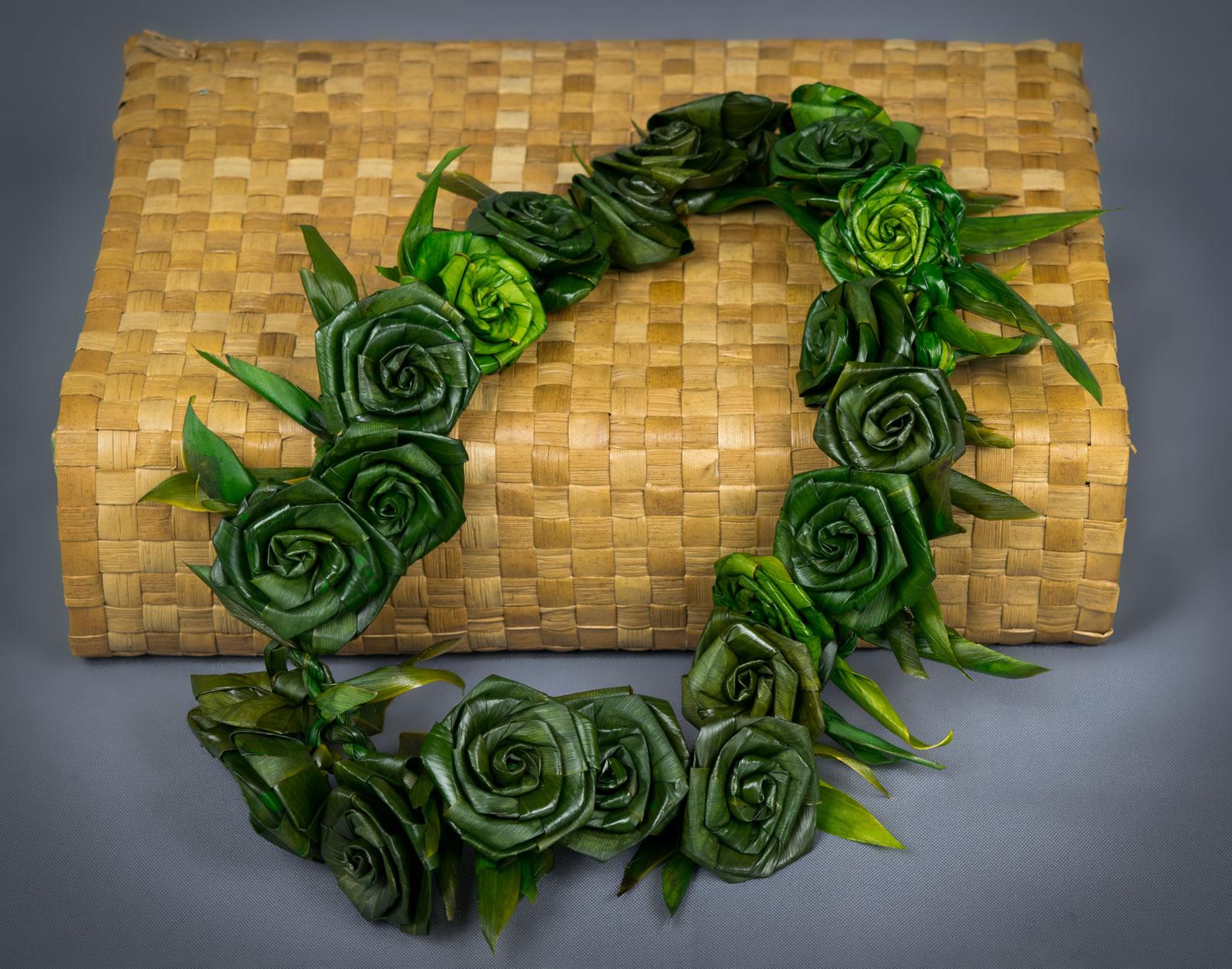 Ti Roses Lei Puna Ohana Tropical Flowers Leis